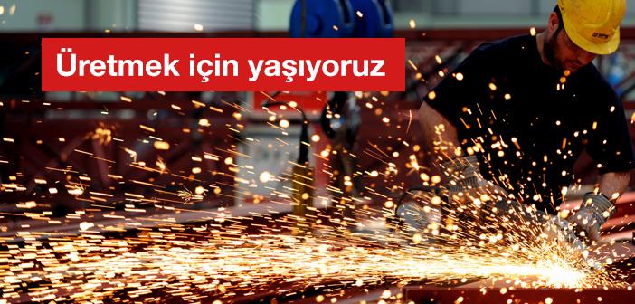 Üretiyoruz…