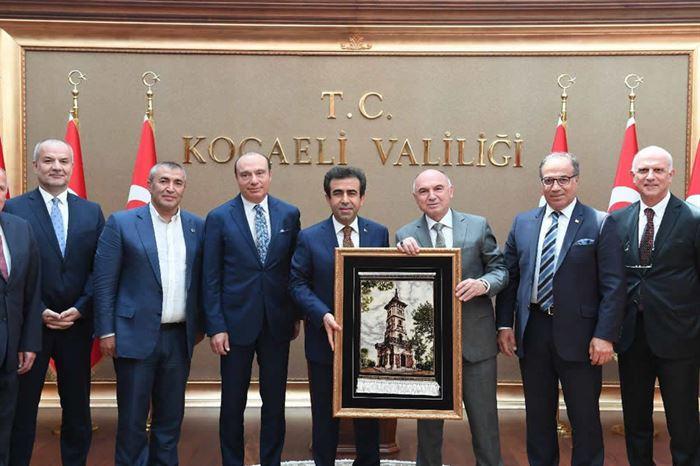 Kocaeli Valimiz Sayın Hasan Basri Güzeloğlu'na Veda Töreni