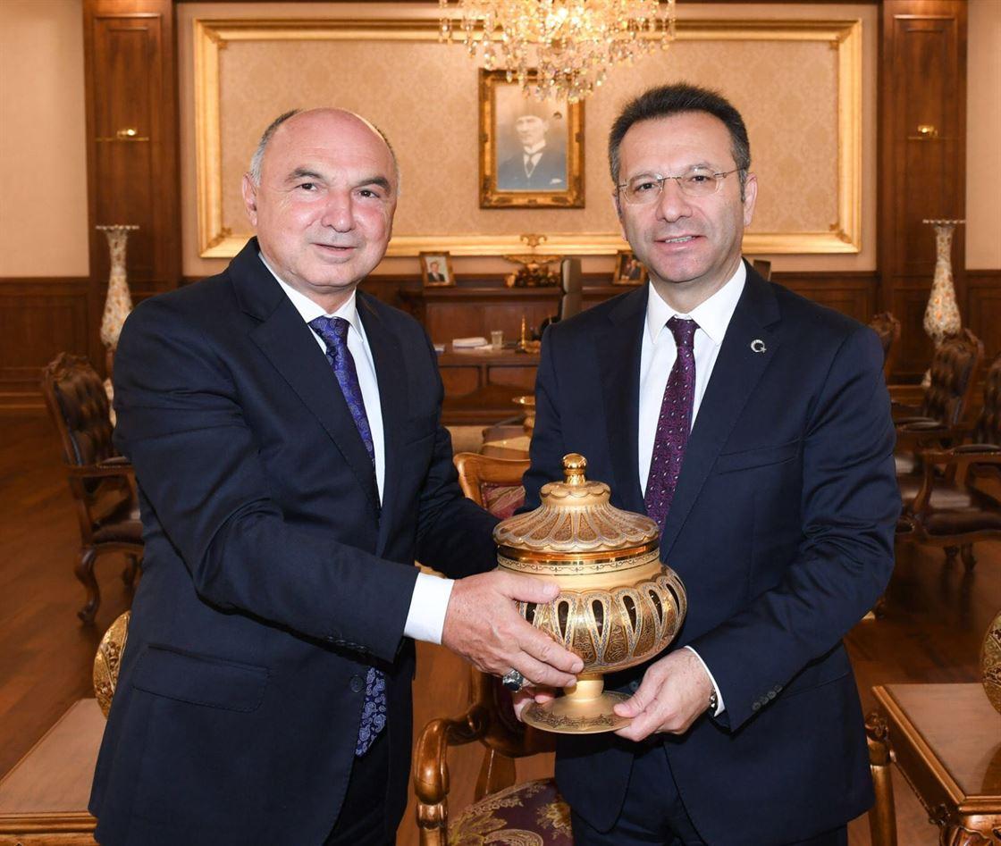 İMES OSB'den Kocaeli Valimiz Sayın Hüseyin Aksoy'a Ziyaret