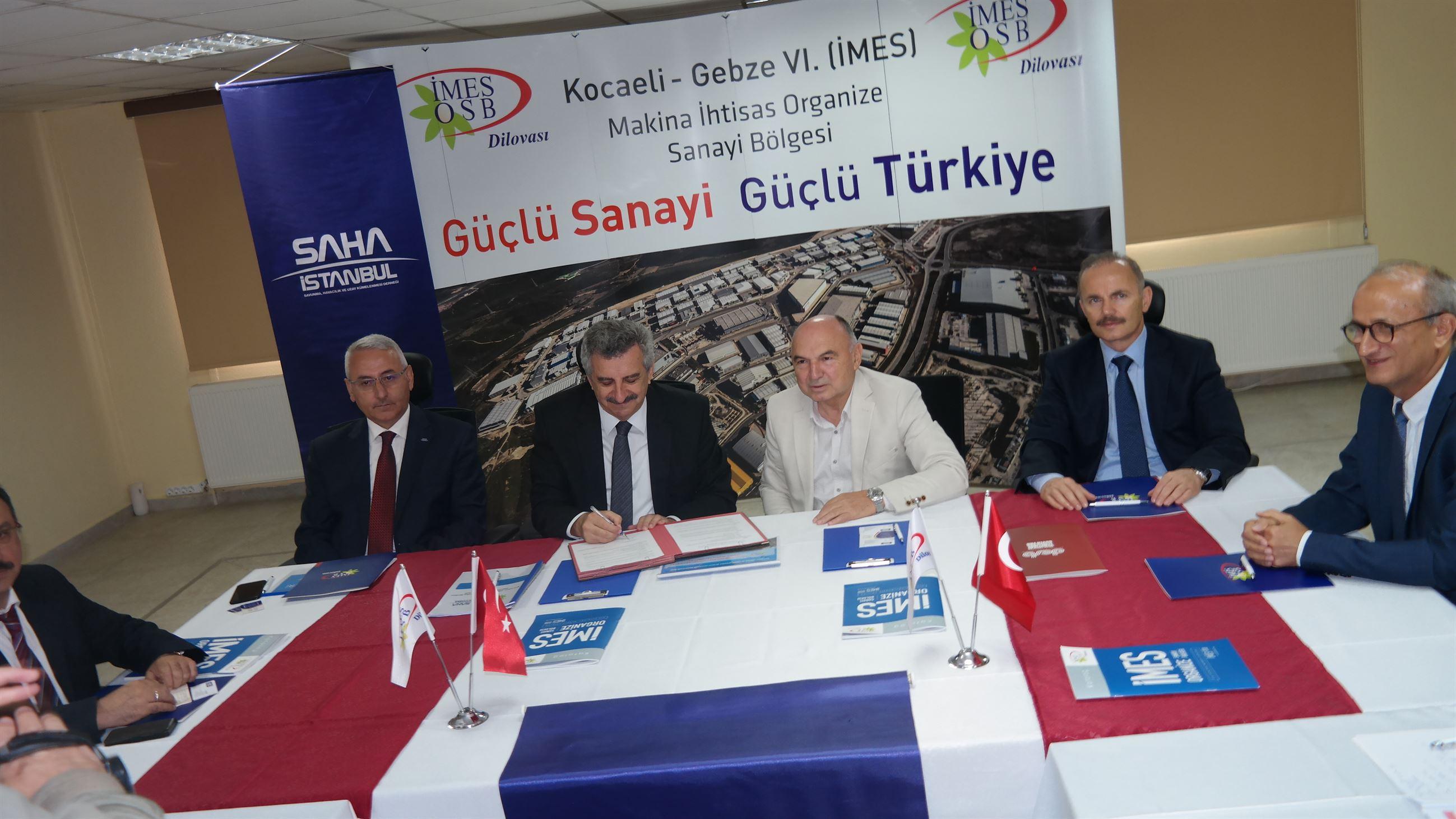 İMES OSB'den SAHA İstanbul İle İş Birliği