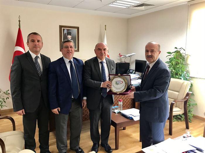İMES OSB'den Bilim Sanayi ve Teknoloji Bakanlığı Birimlerine Ziyaret