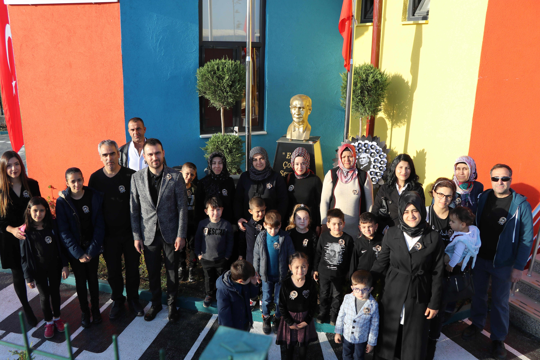 İMES OSB Sercan Sağlam Anaokulu'muzda 10 Kasım Anma Programı